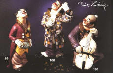 Klauni Petra Ludwiga *  Clowns von Peter Ludwig
